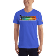 Load image into Gallery viewer, American Patriots Apparel Men's T-Shirt Royal Blue / XS The Rainbow Belongs To God Genesis 9:13 Noah's Ark Tee (13 Variants)