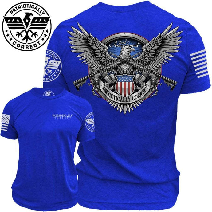 Relentless Defender Men's T-Shirt S / Blue 2A American Eagle (2 Variants)