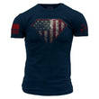 Load image into Gallery viewer, Grunt Style Men's T-Shirt S / Navy Super Patriot T-Shirt