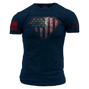 Grunt Style Men's T-Shirt S / Navy Super Patriot T-Shirt