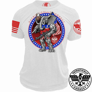Relentless Defender Men's T-Shirt S / White Unapologetic Elephant (2 Variants)