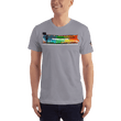 Load image into Gallery viewer, American Patriots Apparel Men's T-Shirt Slate / XS The Rainbow Belongs To God Genesis 9:13 Noah's Ark Tee (13 Variants)