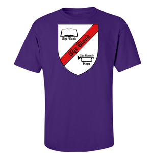 American Patriots Apparel Men's T-Shirt Small / Purple The Robert Breaker Ministry Seal Midweight Cotton Tee (8 Variants)