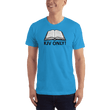 Load image into Gallery viewer, American Patriots Apparel Men's T-Shirt Teal / S KJV ONLY Psalm 12:6-7 T-Shirt (16 Variants)