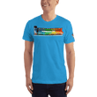 Load image into Gallery viewer, American Patriots Apparel Men's T-Shirt Teal / XS The Rainbow Belongs To God Genesis 9:13 Noah's Ark Tee (13 Variants)