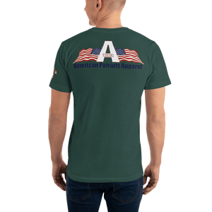 American Patriots Apparel Men's T-Shirt The Rainbow Belongs To God Genesis 9:13 Noah's Ark Tee (13 Variants)