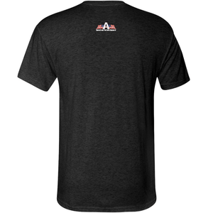 American Patriots Apparel Men's T-Shirt Unisex Next Level Triblend Anti-Antifa USA T-Shirt (6 Variants)