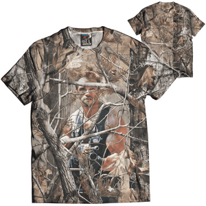 Print Brains Men's T-Shirt UnReal Tree: Arnold Tee / Military Green / XS UnReal Tree: Arnold Tee