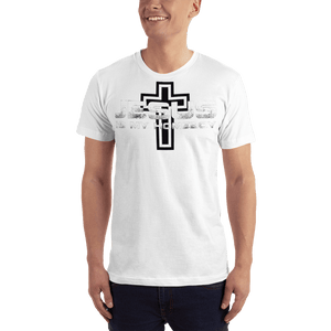American Patriots Apparel Men's T-Shirt White / S Jesus Is My Homeboy Black Cross T-Shirt (13 Variants)