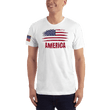 Load image into Gallery viewer, American Patriots Apparel Men's T-Shirt White / XS AMERICA T-Shirt (13 Variants)