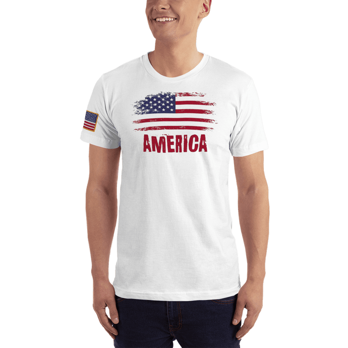 American Patriots Apparel Men's T-Shirt White / XS AMERICA T-Shirt (13 Variants)