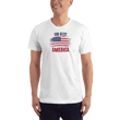 Load image into Gallery viewer, American Patriots Apparel Men's T-Shirt White / XS God Bless America Distressed Flag T-Shirt (13 Variants)