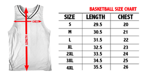 Print Brains Men's Tank Top America #1 Basketball Jersey (3 Variants)