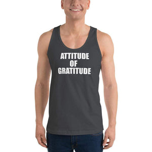 American Patriots Apparel Men's Tank Top Asphalt / XS Attitude of Gratitude Classic Tank Top