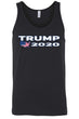 Load image into Gallery viewer, American Patriots Apparel Men's Tank Top Black / L Trump 2020 USA Flag Map Tank-Top (7 Variants)
