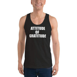 American Patriots Apparel Men's Tank Top Black / XS Attitude of Gratitude Classic Tank Top