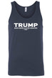 Load image into Gallery viewer, American Patriots Apparel Men's Tank Top FRONT / Navy / XLARGE Unisex Trump Make America Even Greater Tank Top (4 Variants)