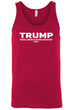 Load image into Gallery viewer, American Patriots Apparel Men's Tank Top FRONT / Red / LARGE Unisex Trump Make America Even Greater Tank Top (4 Variants)