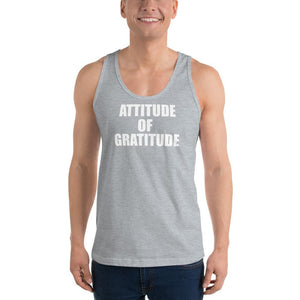 American Patriots Apparel Men's Tank Top Heather Grey / XS Attitude of Gratitude Classic Tank Top