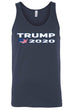 Load image into Gallery viewer, American Patriots Apparel Men's Tank Top Navy / L Trump 2020 USA Flag Map Tank-Top (7 Variants)