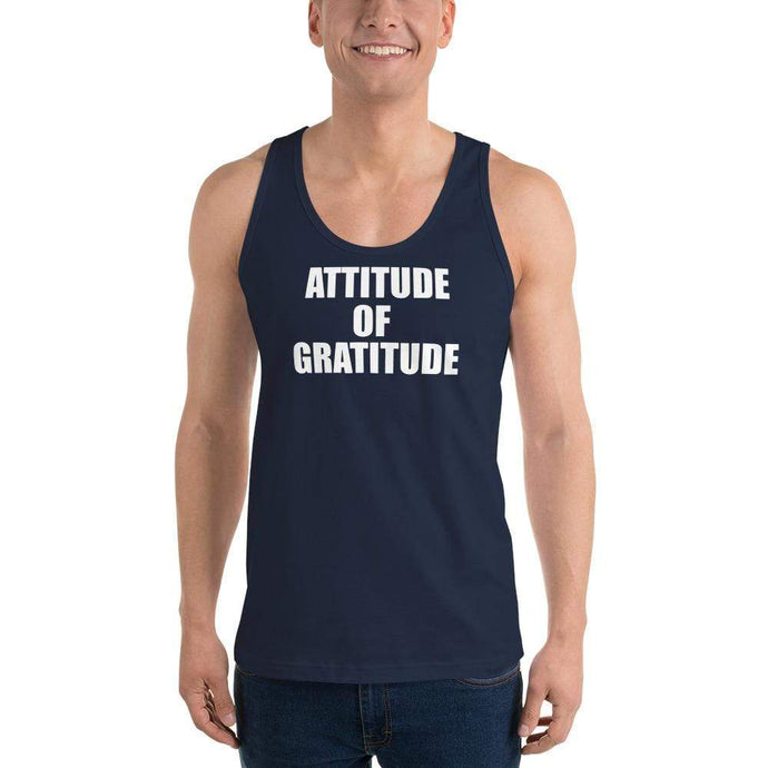 American Patriots Apparel Men's Tank Top Navy / XS Attitude of Gratitude Classic Tank Top