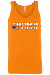 Load image into Gallery viewer, American Patriots Apparel Men's Tank Top Orange / L Trump 2020 USA Flag Map Tank-Top (7 Variants)