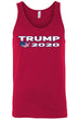 Load image into Gallery viewer, American Patriots Apparel Men's Tank Top Red / XXL Trump 2020 USA Flag Map Tank-Top (7 Variants)