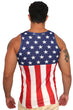 Load image into Gallery viewer, American Patriots Apparel Men's Tank Top USA Flag Men's Tank Top