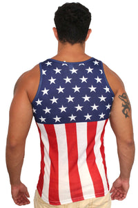 American Patriots Apparel Men's Tank Top USA Flag Men's Tank Top