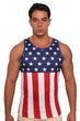 Load image into Gallery viewer, American Patriots Apparel Men's Tank Top USA Flag / XL USA Flag Men's Tank Top