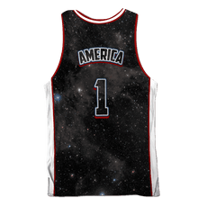 Load image into Gallery viewer, Greater Half Men's Tank Top USA Galaxy Basketball Jersey2