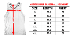 Greater Half Men's Tank Top USA Galaxy Basketball Jersey2