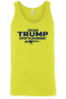 Load image into Gallery viewer, American Patriots Apparel Men's Tank Top Yellow / S / FRONT Trump Support the 2nd Amendment MAGA Tank Top (5 Variants)