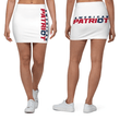 Load image into Gallery viewer, American Patriots Apparel Mini Skirt XS American Patriot Star Vertical Leg Mini Skirt