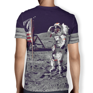 American Patriots Apparel Moon Walk Men's T-Shirt