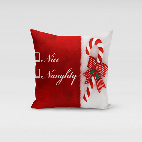 American Patriots Apparel Naughty or Nice Pillow Cover