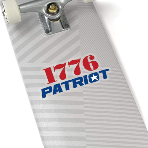 Printify Paper products 1776 Patriot Sticker (4 Sizes)
