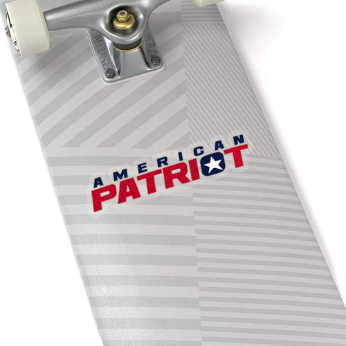 Printify Paper products American Patriot Sticker (4 Sizes)