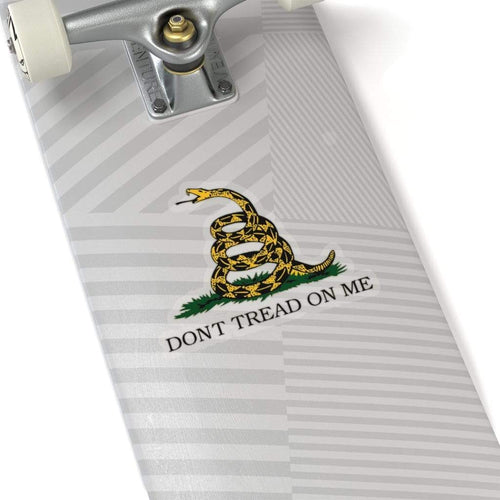 Printify Paper products Don't Tread On Me Sticker (4 Sizes)