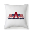 Load image into Gallery viewer, American Patriots Apparel Pillow Patriot Cross Microfiber Fabric Throw Square Pillow Case W/Optional Pillow Insert