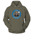 Load image into Gallery viewer, Print Brains Port & Co Core Fleece Hooded Sweatshirt / Military Green / S Biden PINO Hoodie V1 (6 Variants)