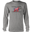 Load image into Gallery viewer, Print Brains Port & Co US Made Cotton Long Sleeve Crew / Heather Gray / S Rampant Donkey Election Fraud 2020 Long-Sleeve (8 Variants)