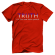 Load image into Gallery viewer, Print Brains Port & Co US Made Cotton Tee / Red / S TRUTH It's The New Hate Speech T-Shirt (6 Variants)