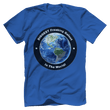 Load image into Gallery viewer, Print Brains Port & Co US Made Cotton Tee / Royal Blue / S BIGGEST Freaking Galoot In The World T-Shirt (6 Variants)