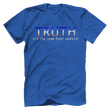 Load image into Gallery viewer, Print Brains Port & Co US Made Cotton Tee / Royal Blue / S TRUTH It's The New Hate Speech T-Shirt (6 Variants)