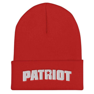 American Patriots Apparel Red Patriot Star Cuffed Beanie (6 Variants)