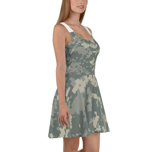 American Patriots Apparel Skater Dress Army ACU Camo Skater Dress