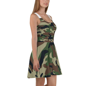 American Patriots Apparel Skater Dress Army Camo Skater Dress