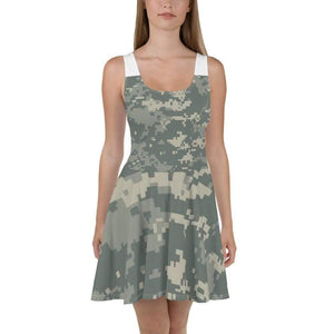 American Patriots Apparel Skater Dress XS / Army ACU Camo Army ACU Camo Skater Dress