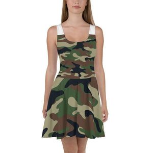 American Patriots Apparel Skater Dress XS / Army Camo Army Camo Skater Dress
